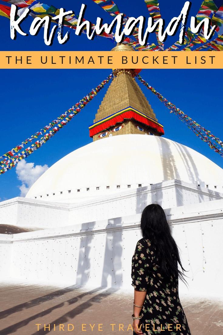 kathmandu bucket list
