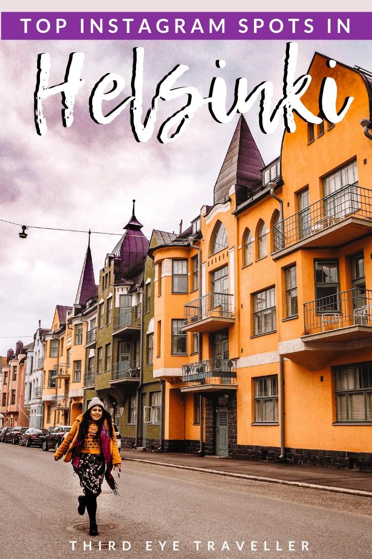 instagram spots in Helsinki