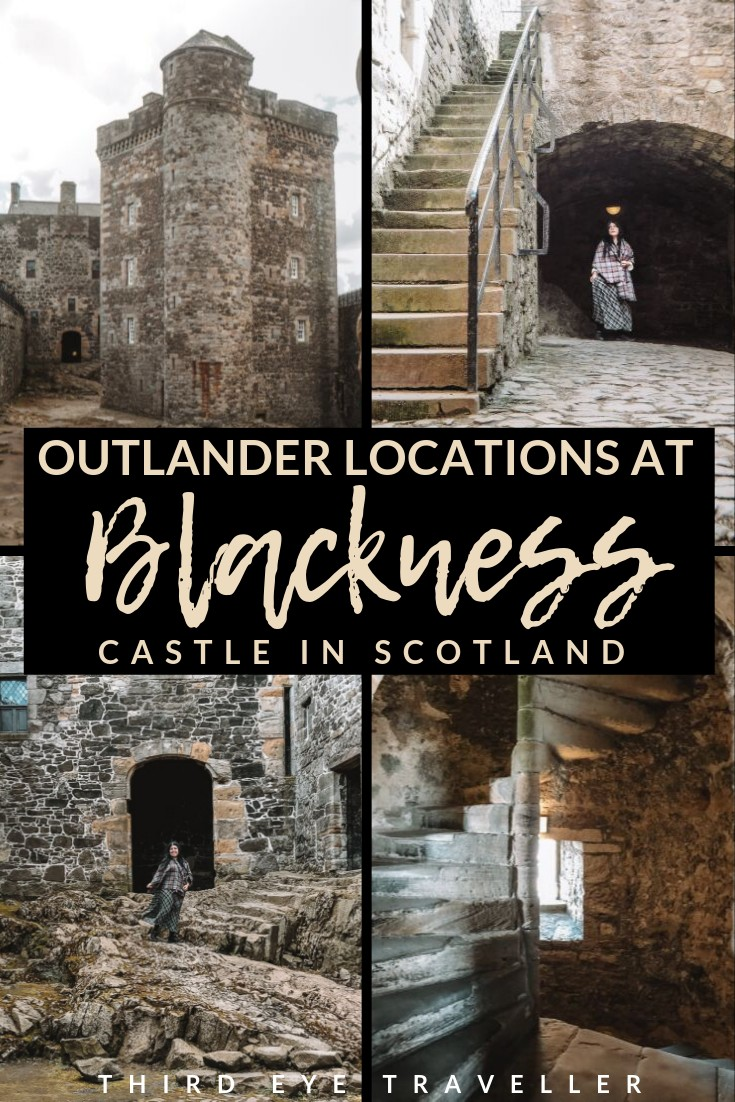 blackness castle outlander location fort william