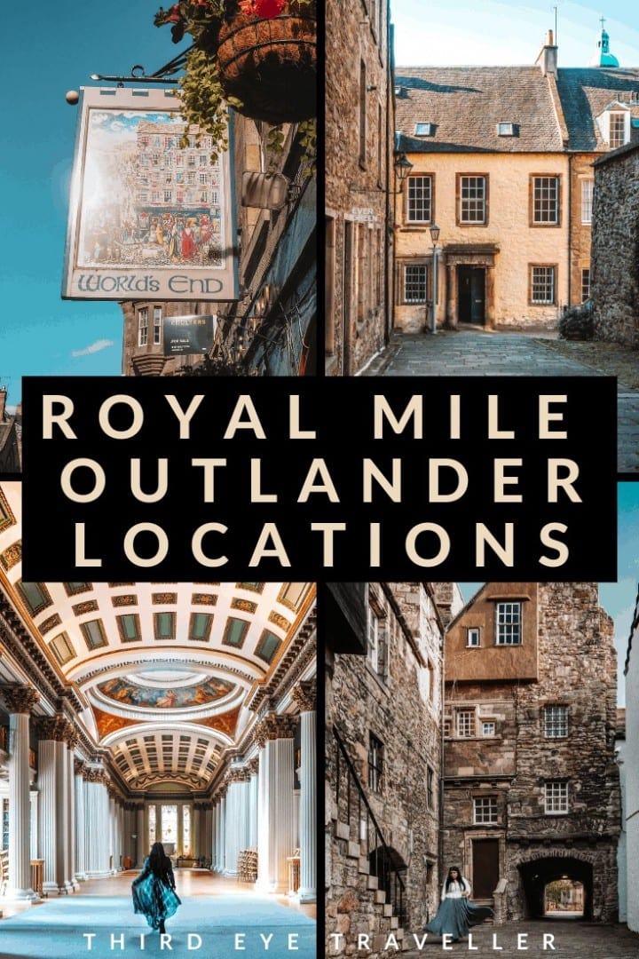 royal mile outlander edinburgh