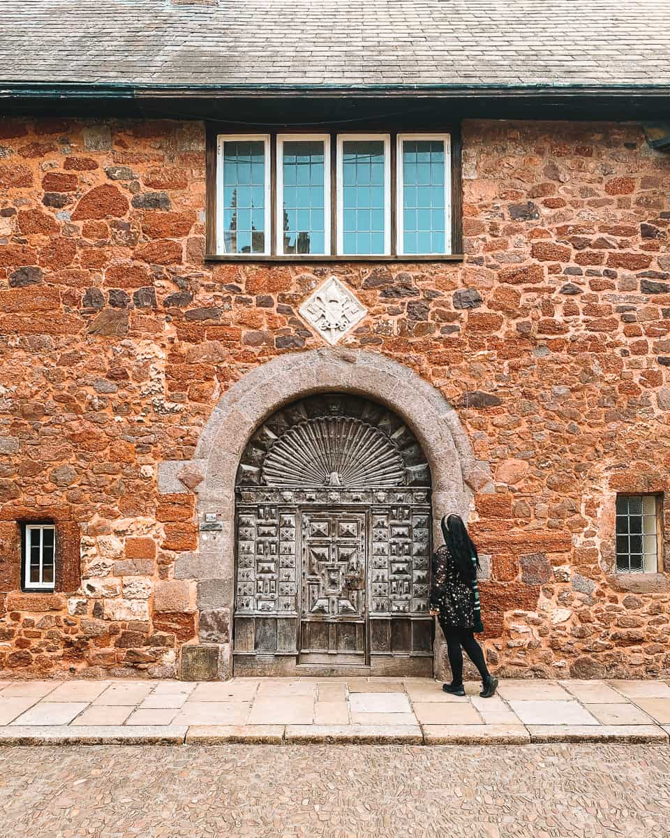 10 Cathedral Close Door Exeter Harry Potter