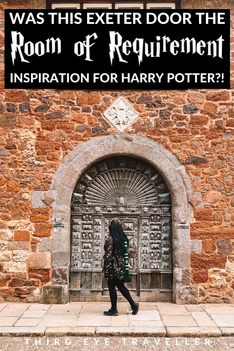 10 Cathedral cLose Exeter Harry potter Room of Requirement door inspiration
