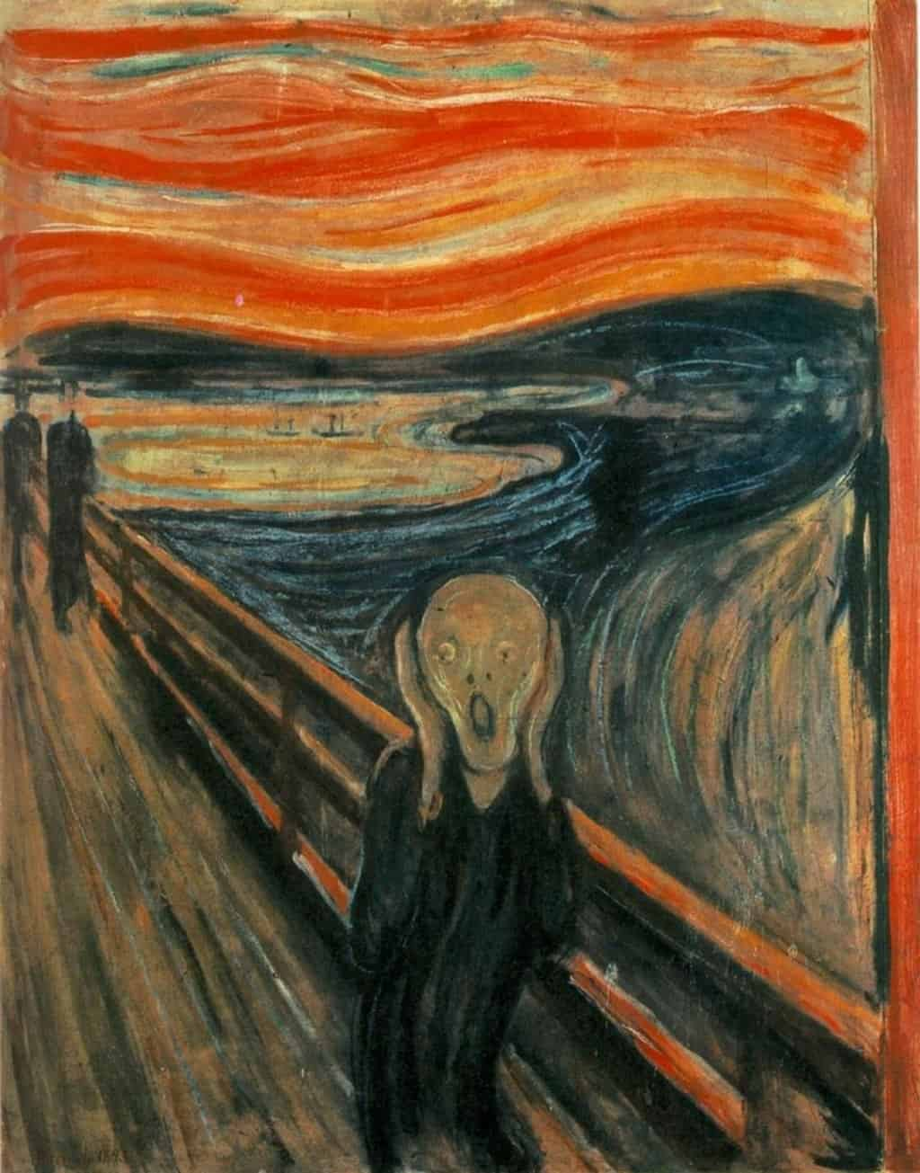 Edvard Munch The Scream Painting in Oslo Norway