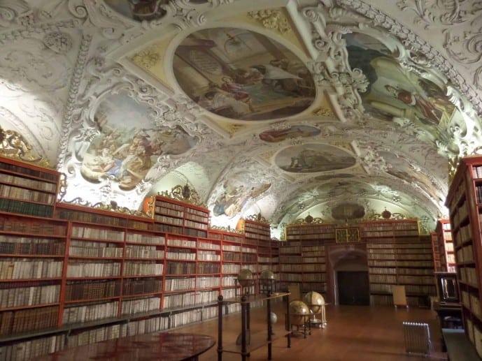 Strahov Library Outlander