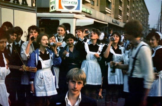 Pepsi in Russia 1981
