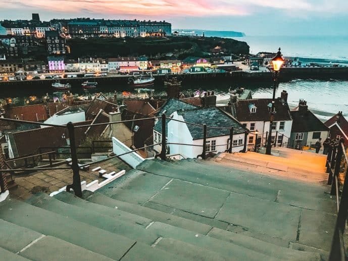The 199 steps whitby