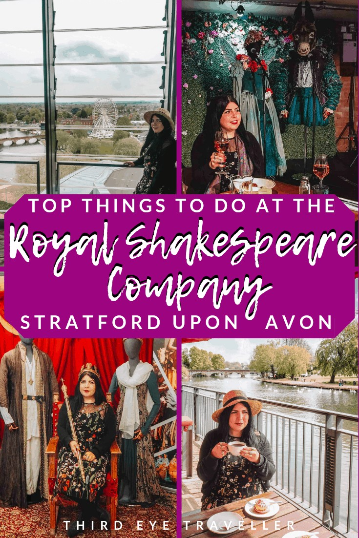 things to do at the Royal Shakespeare Company Stratford