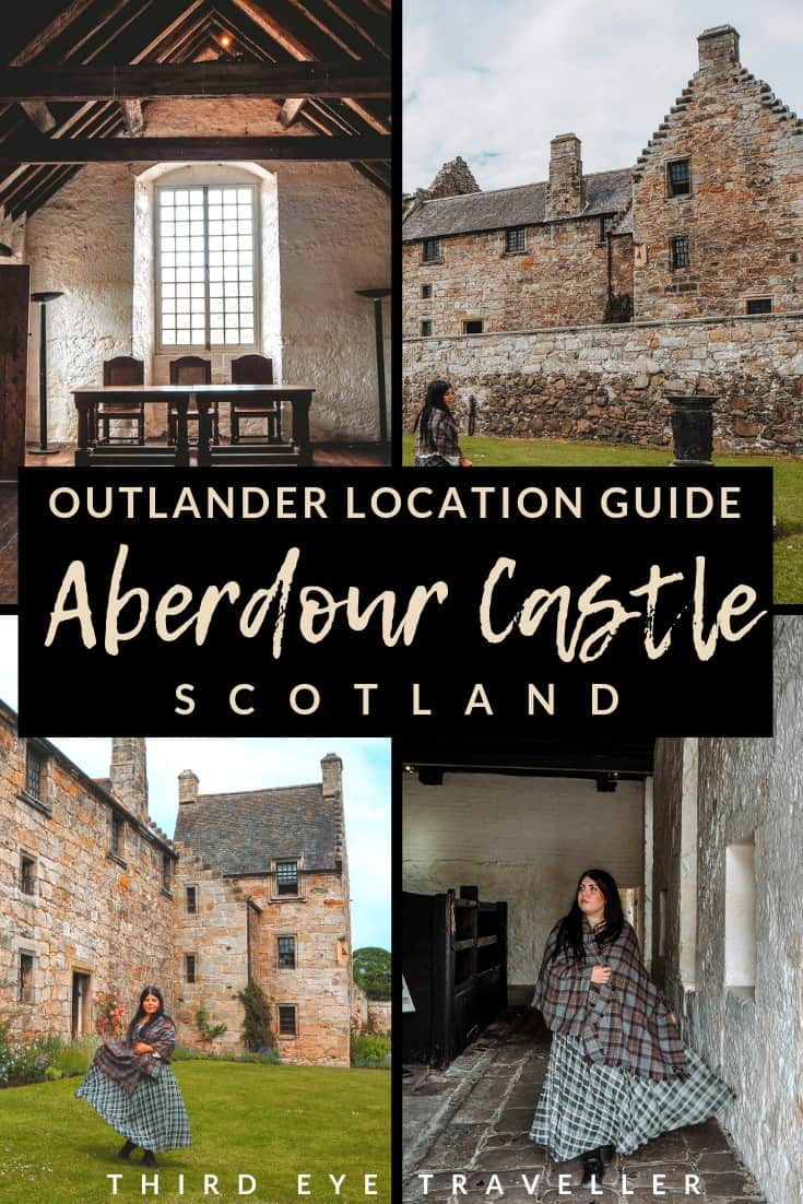 aberdour castle outlander location abbey