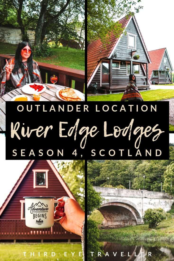 River Edge Lodges Outlander location Bree and Roger Scottish Festival