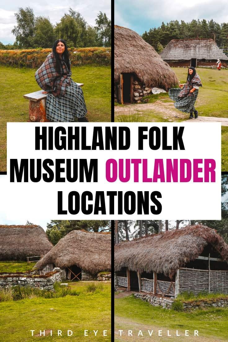 highland folk museum outlander locations