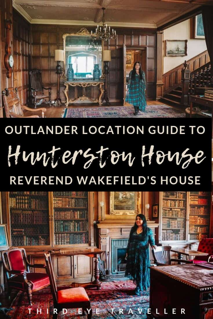 Hunterston house outlander reverend wakefields home film location