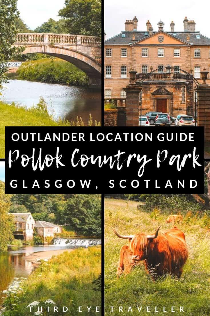 Pollok Country Park Outlander location