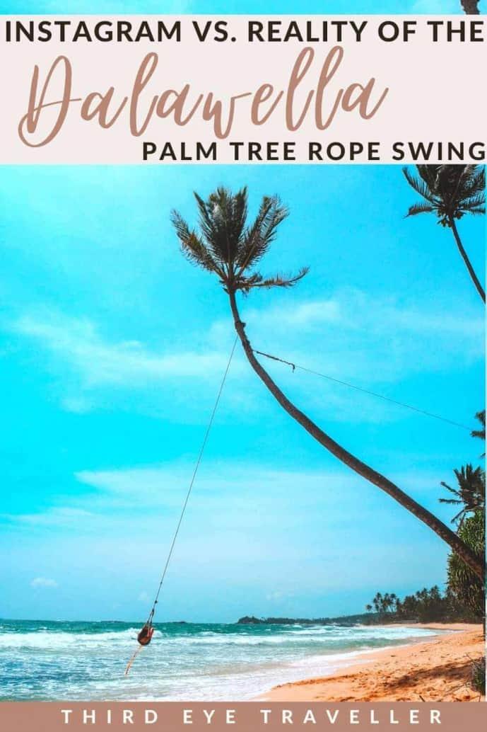 Dalawella Beach Swing Sri Lanka