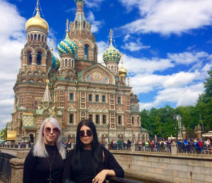 st petersburg in one day