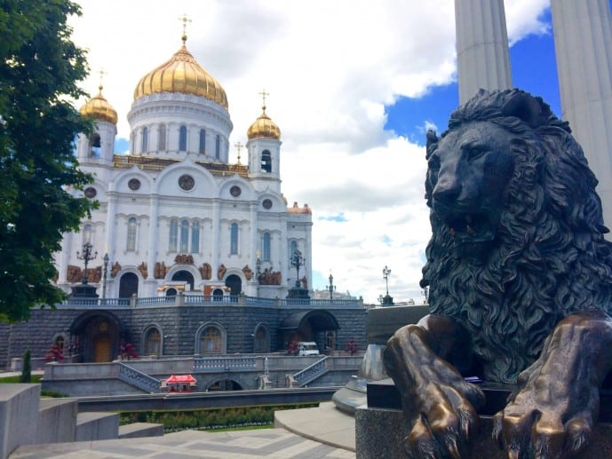 crazy things to do in Moscow