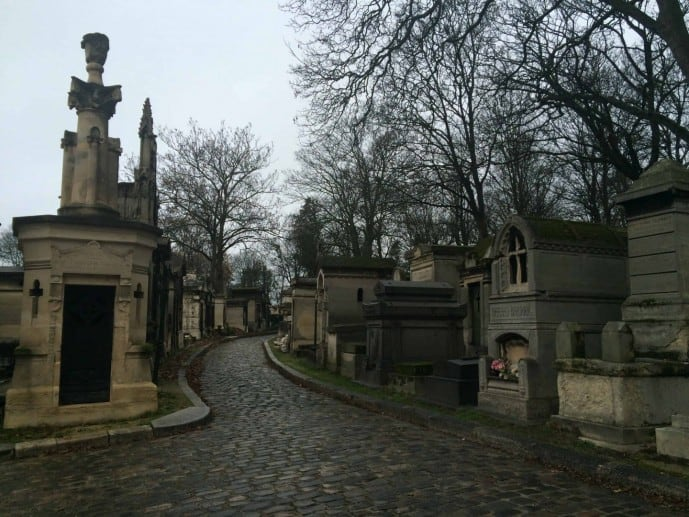 find jim morrison's grave