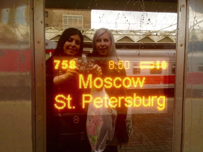 moscow to st petersburg high speed train