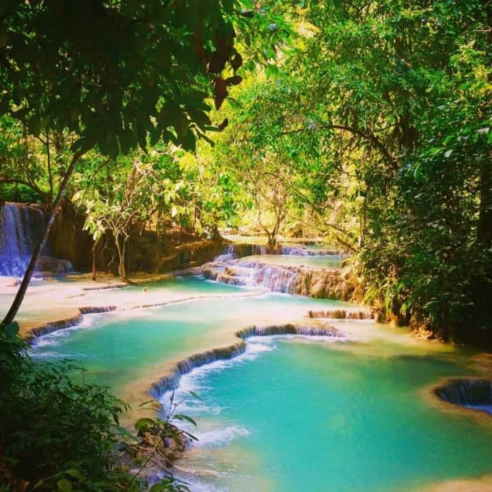 Kuang Is Falls Laos