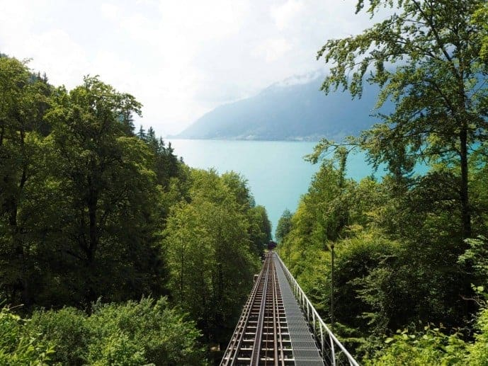 grand hotel giessbach funicular view of lake brienz