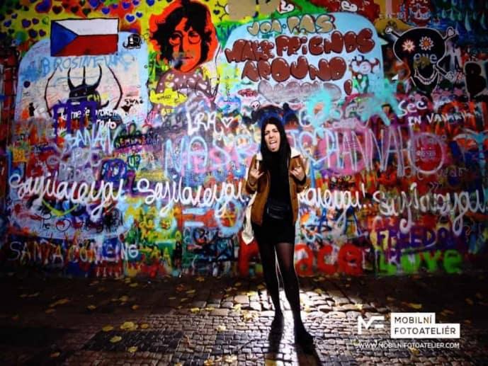 John Lennon Wall Prague | solo travel problems