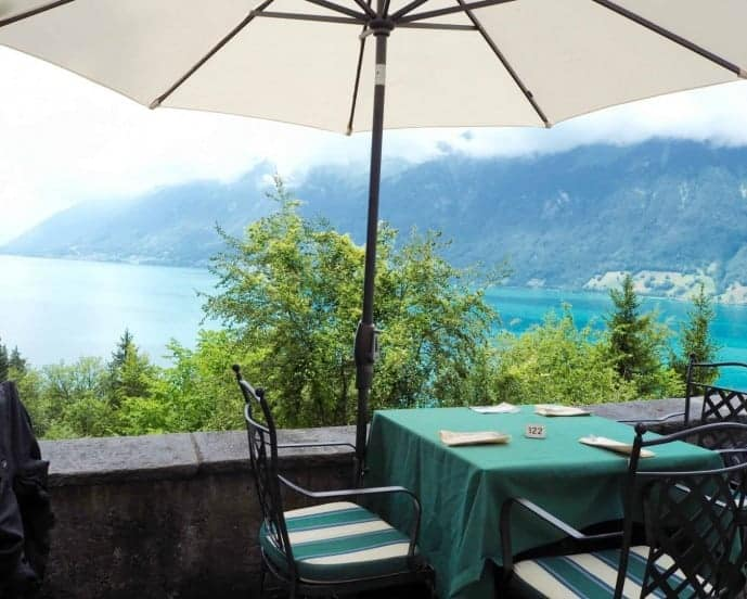 la terrasse restaurant grand hotel giessbach switzerland
