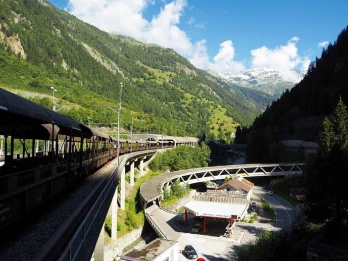 Lötschberg Tunnel Switzerland