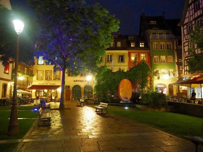 things to do in strasbourg at night