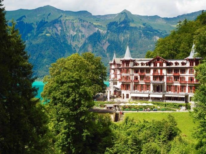 The Grand Hotel Giessbach Switzerland