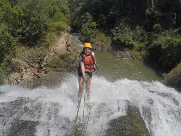Places to visit in Vietnam | Crazy Canyoning in Da Lat