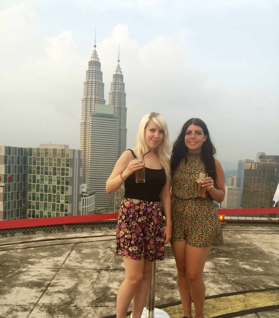 Helibar Lounge Kuala Lumpur | best view of the Petronas Towers