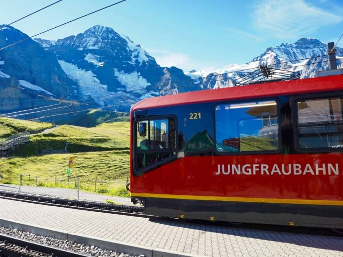 Jungfraujoch Top of Europe Train