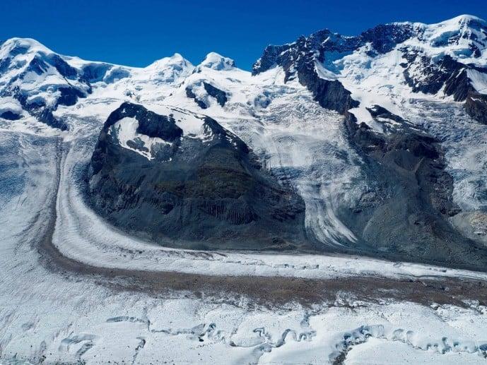 Gornergrat Bahn Glacier