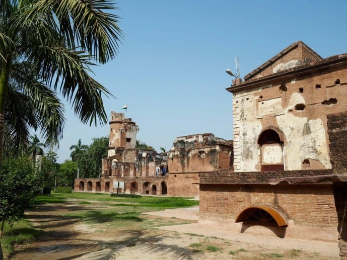 BRITISH RESIDENCY LUCKNOW ITINERARY