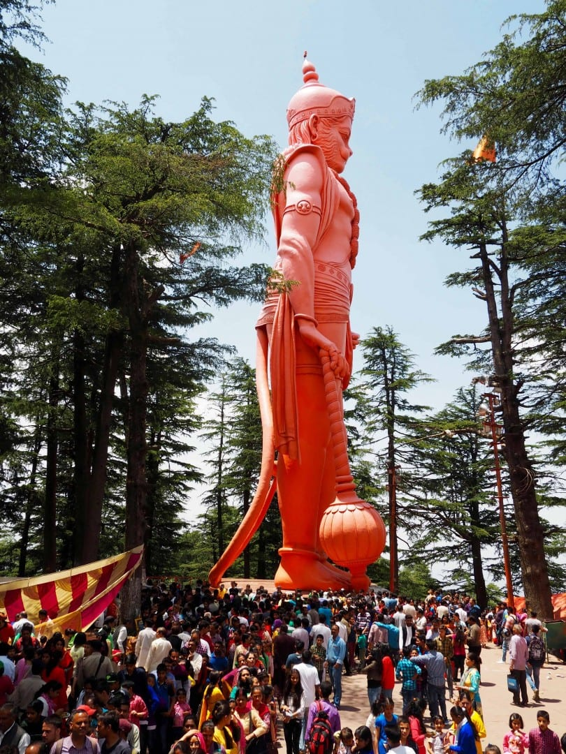 HANUMAN JAKHU TEMPLE places to visit in Shimla