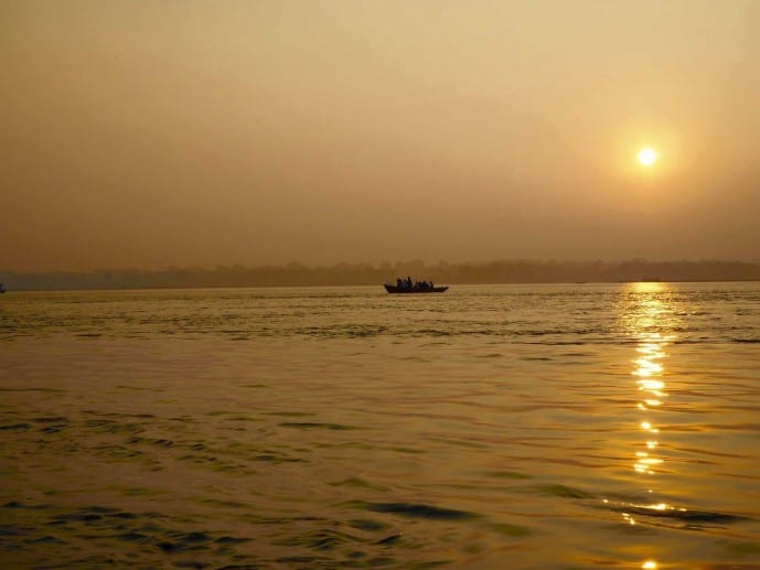 river ganges sunrise
