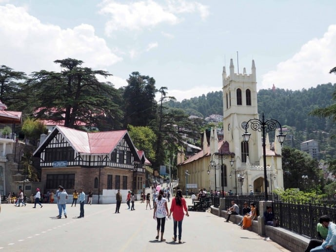 THE RIDGE SHIMLA places to visit in Shimla