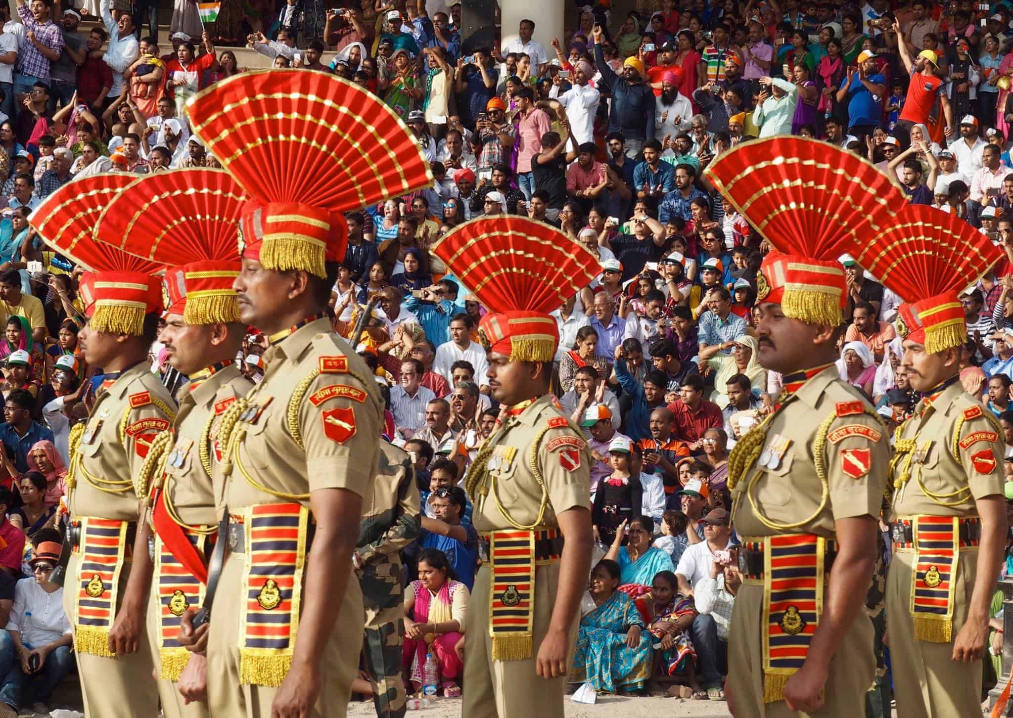 WAGAH BORDER CEREMONY guide