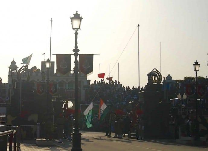 WAGAH BORDER FLAG CEREMONY