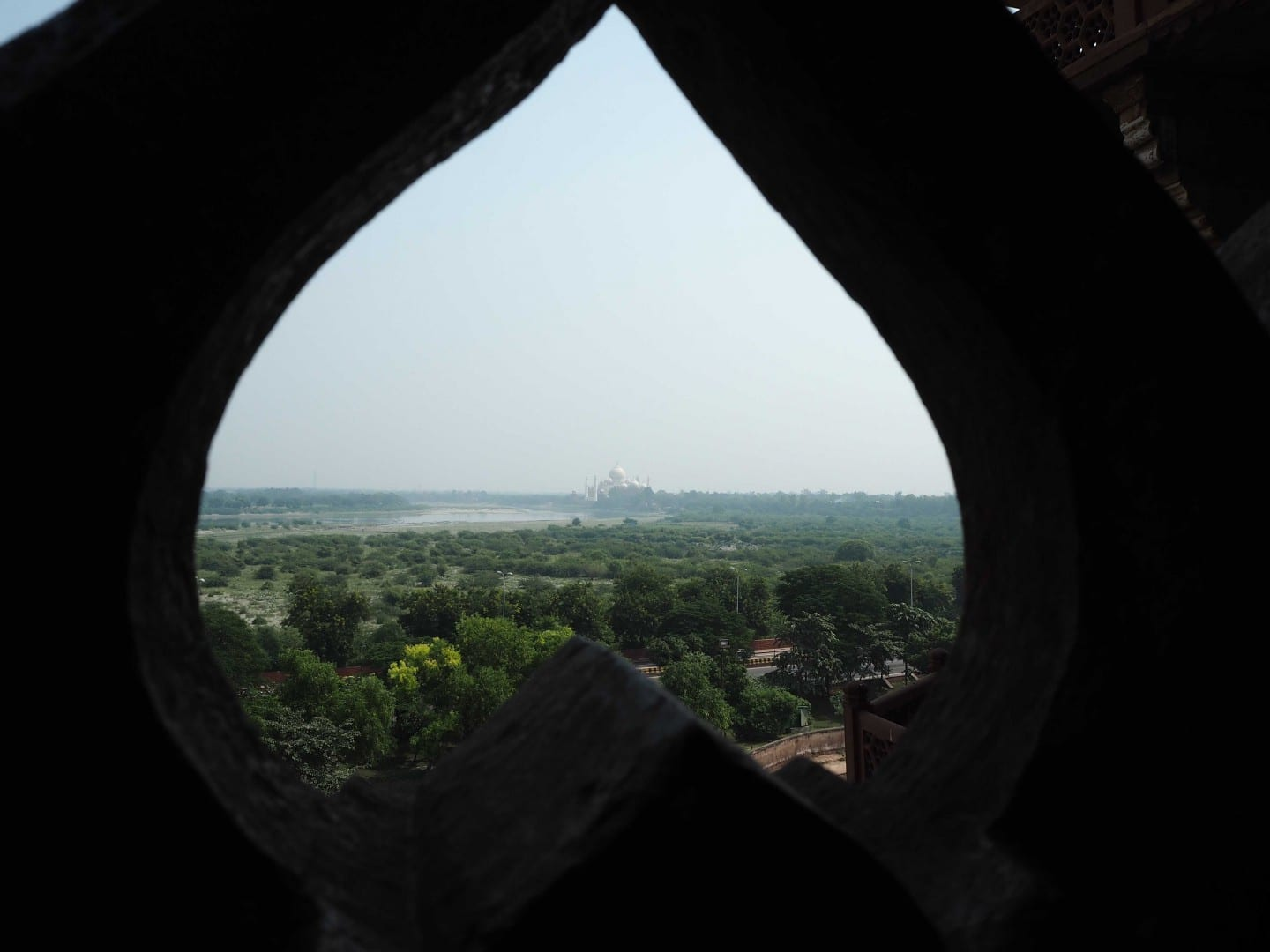 AGRA FORT VIEW