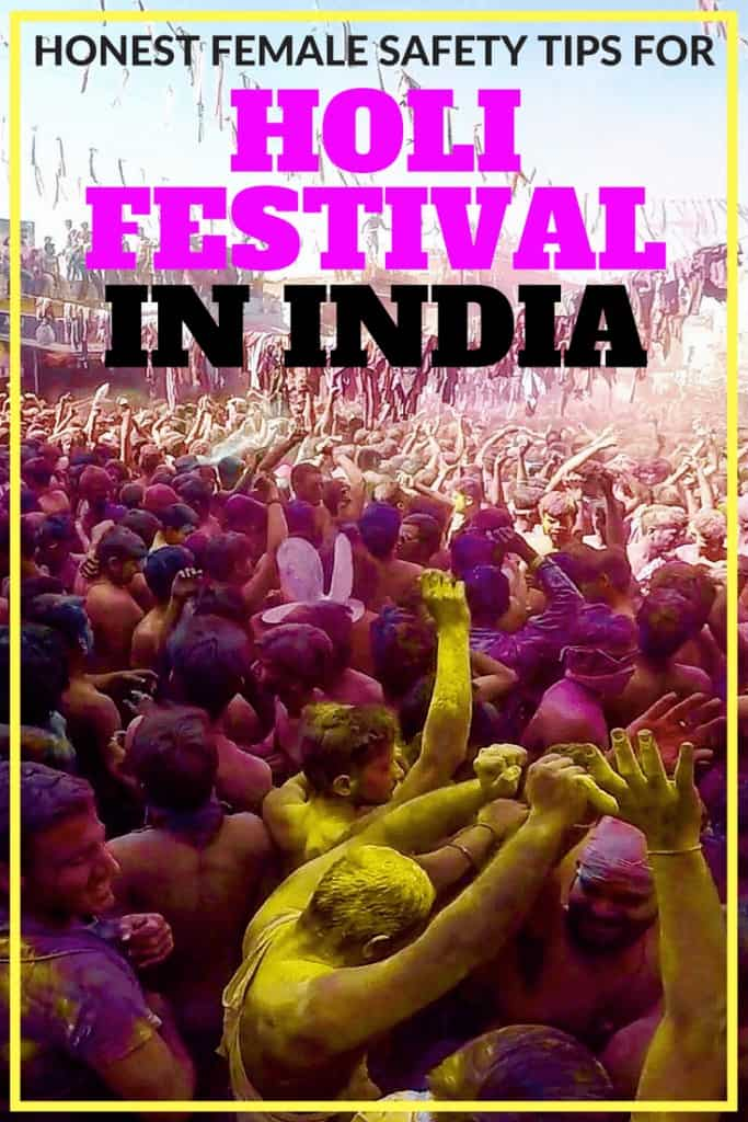 female safety tips holi festival