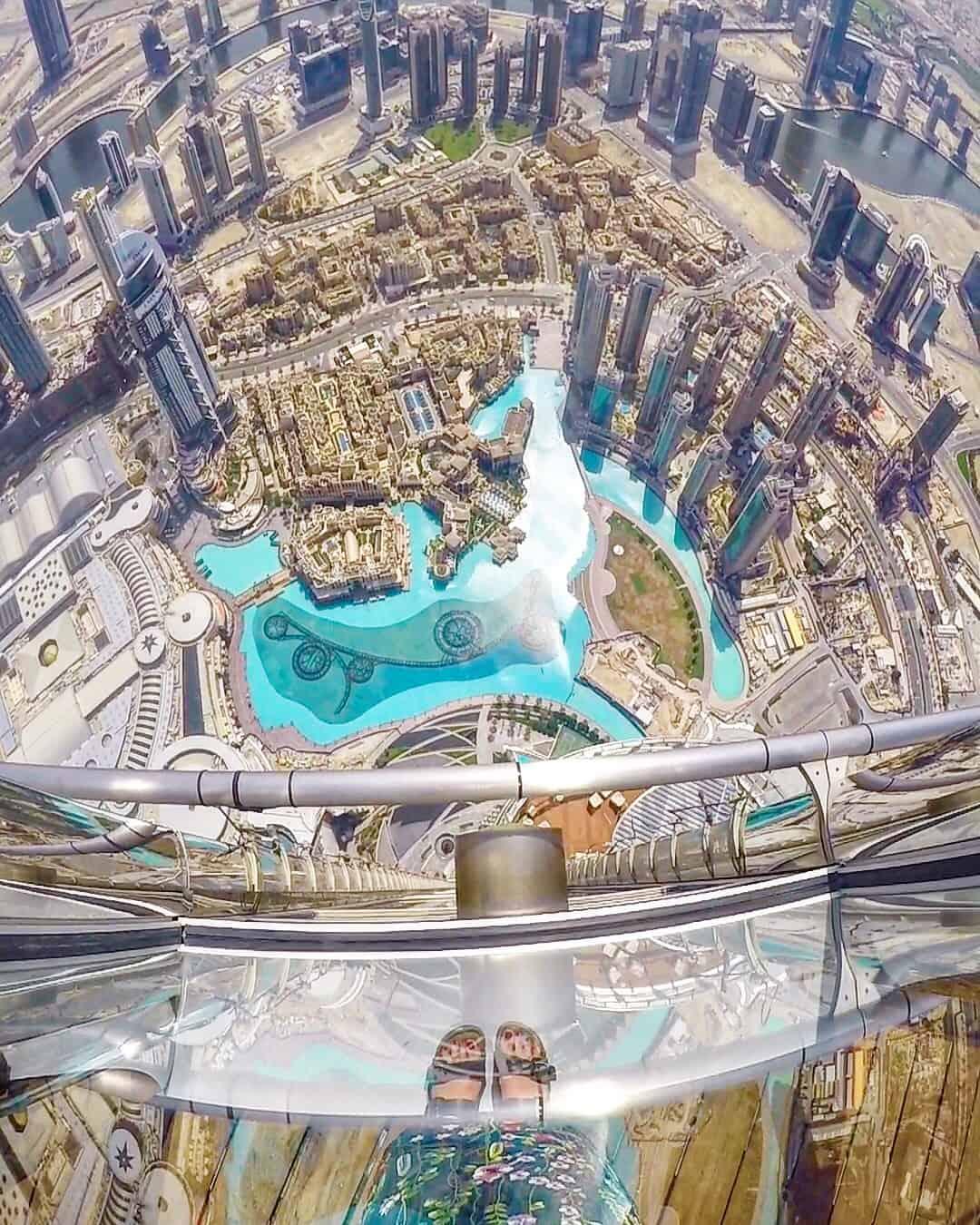 At The Top Burj Khalifa In Dubai - The