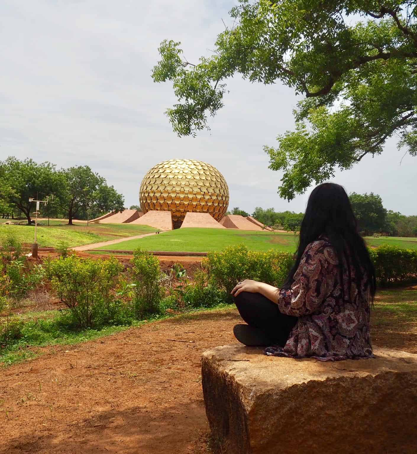auroville matrimandir pondicherry