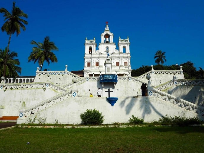 church of the immaculate conception Goa