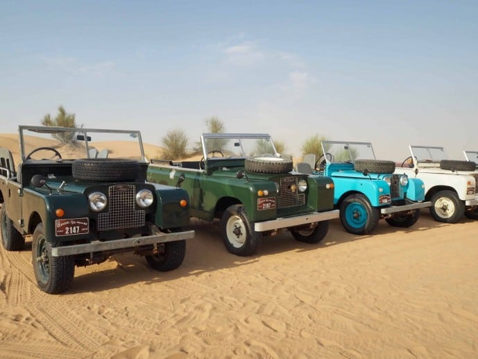 platinum heritage desert safari dubai