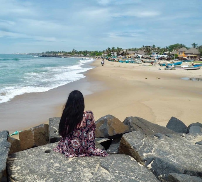 serenity beach pondicherry
