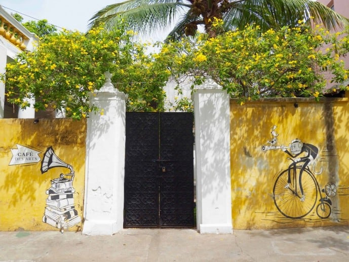 white town pondicherry