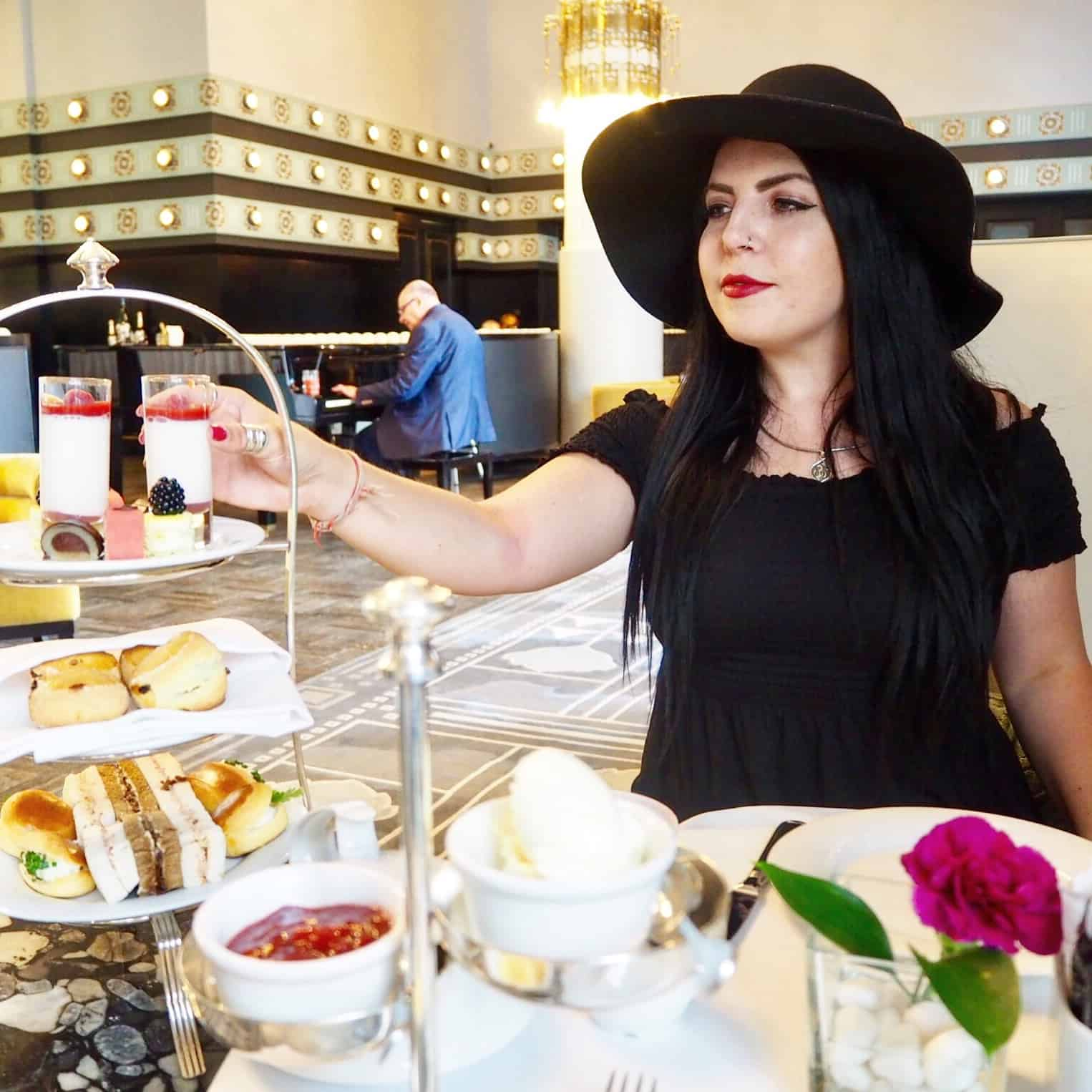 afternoon tea at hotel bristol in warsaw