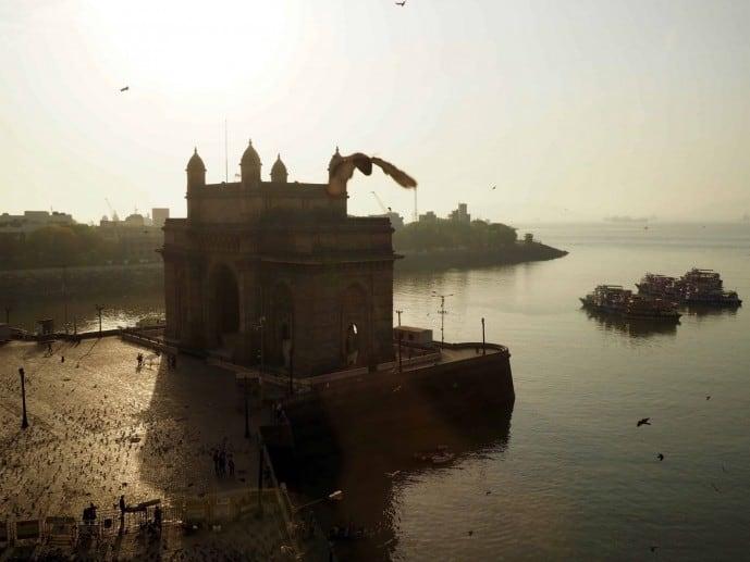 first time in Mumbai gateway to india