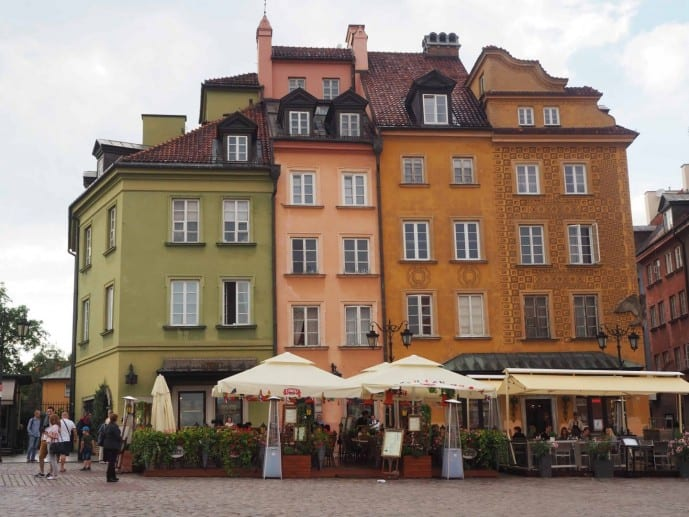 warsaw travel guide | Warsaw old town