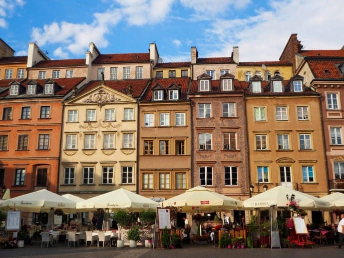 warsaw old market place | Warsaw travel guide